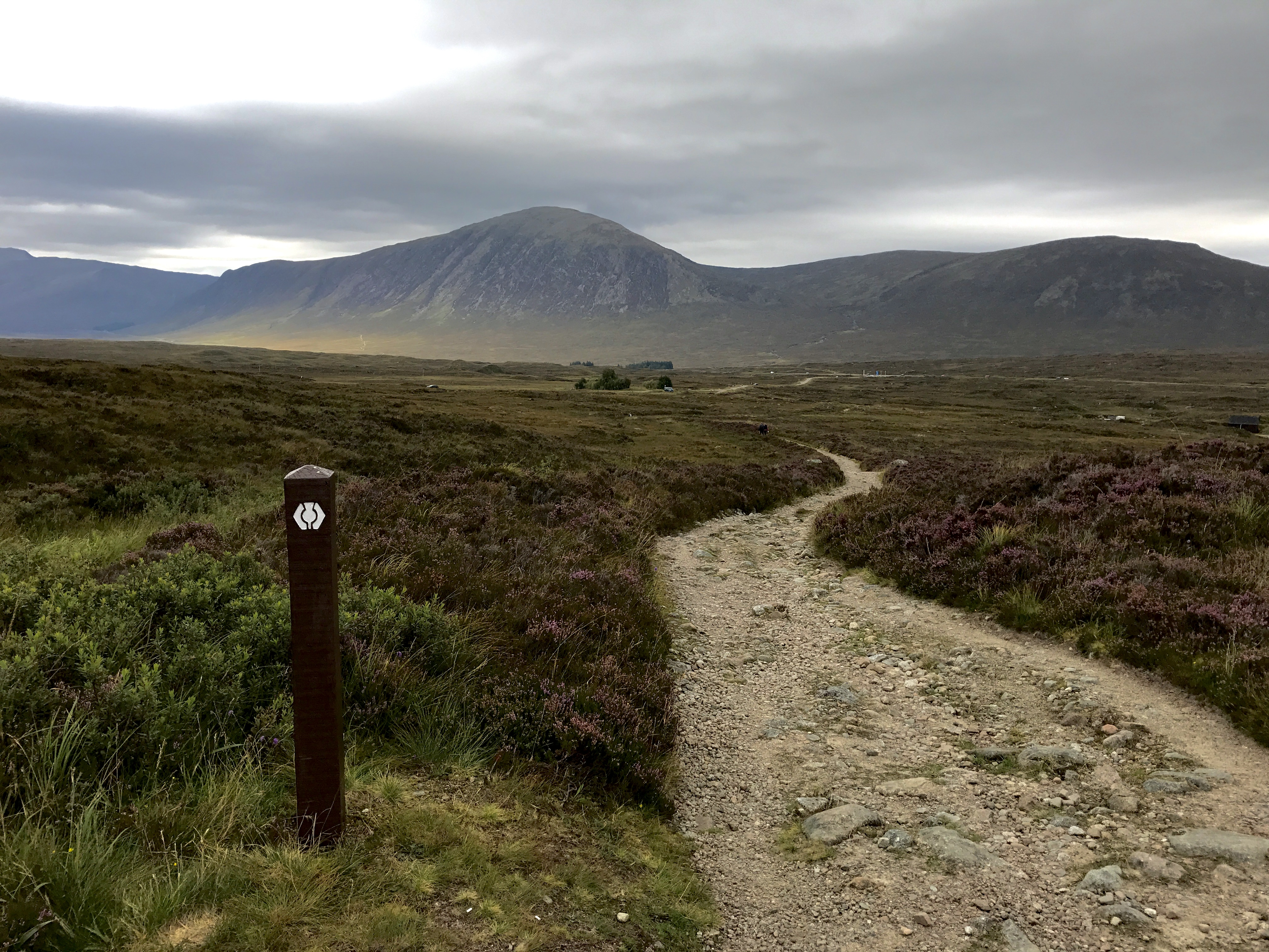 The walk from the Inveroran Hotel to Kingshouse